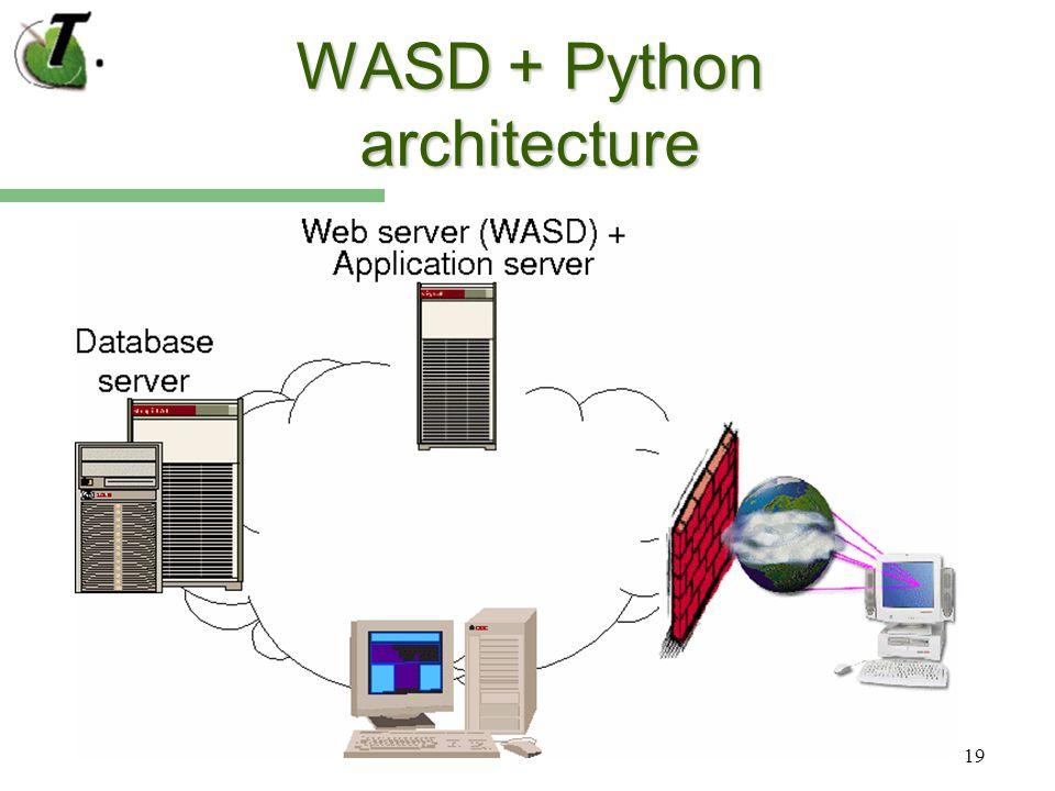 19 WASD + Python architecture