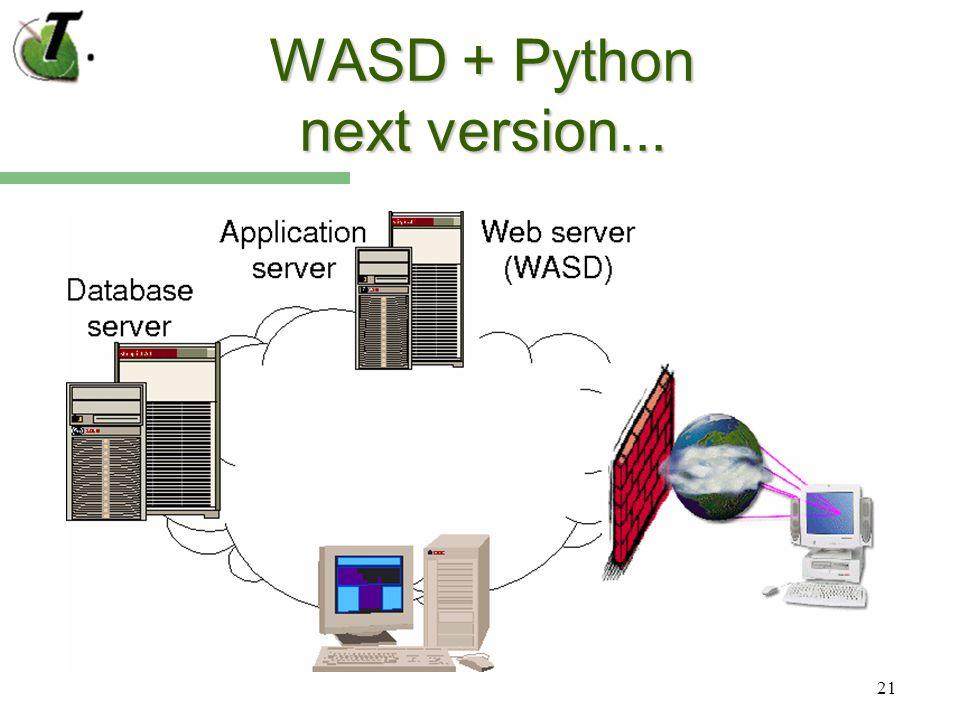 21 WASD + Python next version...