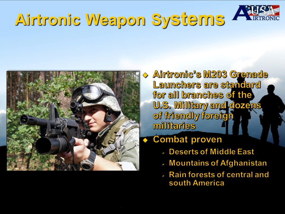 Airtronic Weapon Sy stems