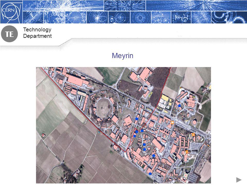 Technology Department Meyrin