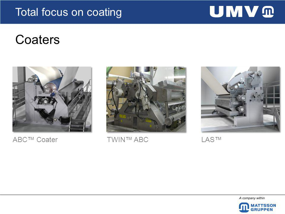 Total focus on coating Coaters ABC CoaterTWIN ABCLAS