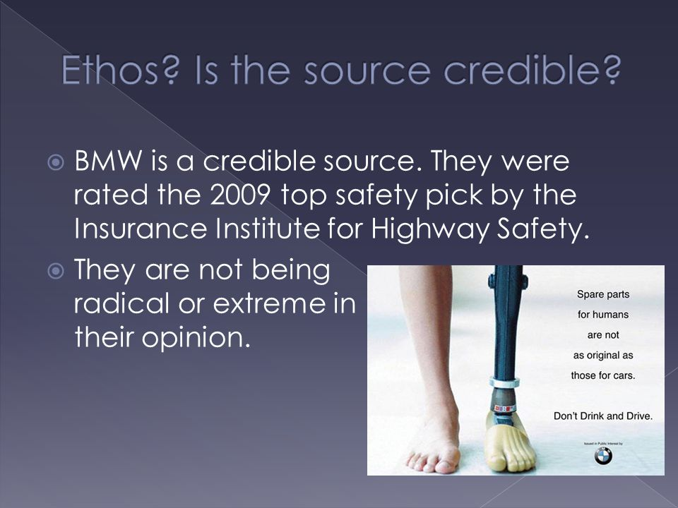 BMW is a credible source.