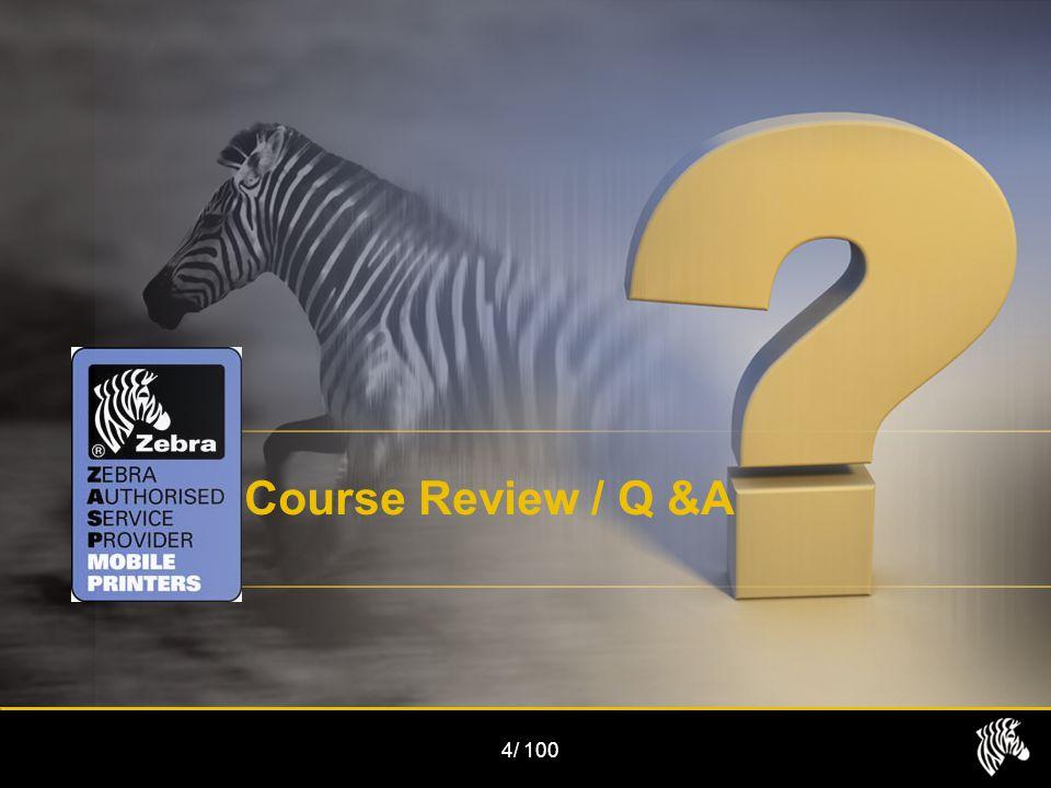 1/100 4/ Course Review / Q &A
