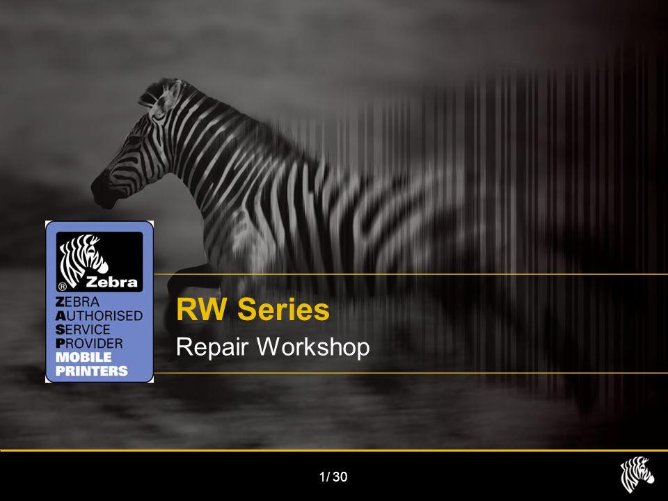 1/30 RW Series Repair Workshop