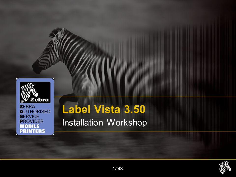 1/98 Label Vista 3.50 Installation Workshop