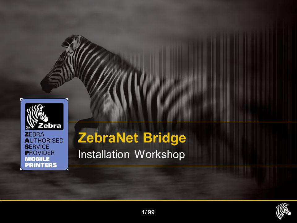 1/99 ZebraNet Bridge Installation Workshop