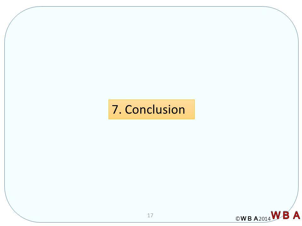 © 2014 17 7. Conclusion