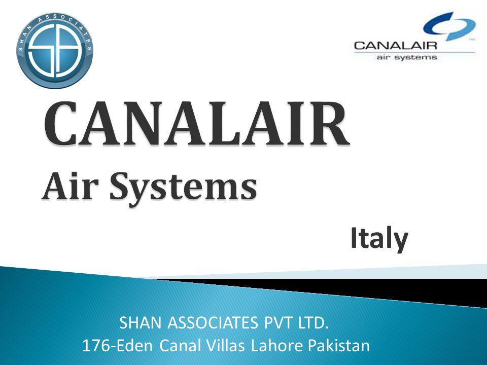 Italy SHAN ASSOCIATES PVT LTD. 176-Eden Canal Villas Lahore Pakistan