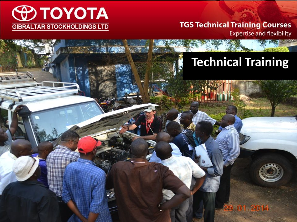 The TGS Technical Training Team Technical Training