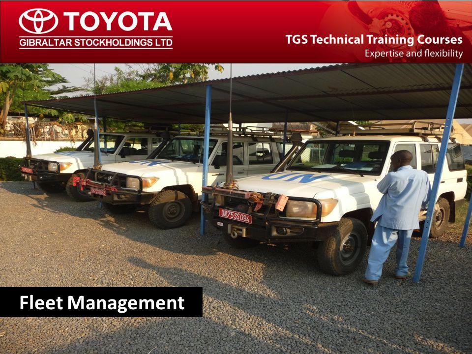 The TGS Technical Training Team Fleet Management