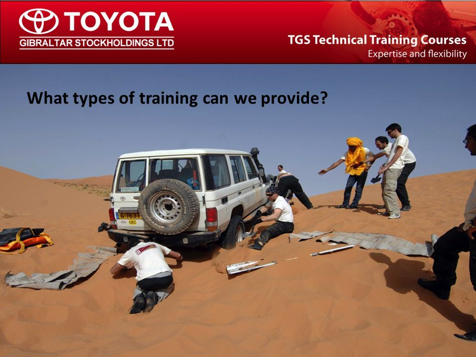 The TGS Technical Training Team Road Safety & Awareness