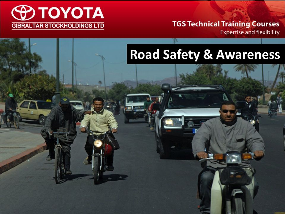 The TGS Technical Training Team Off-Road Driving and Vehicle Recovery