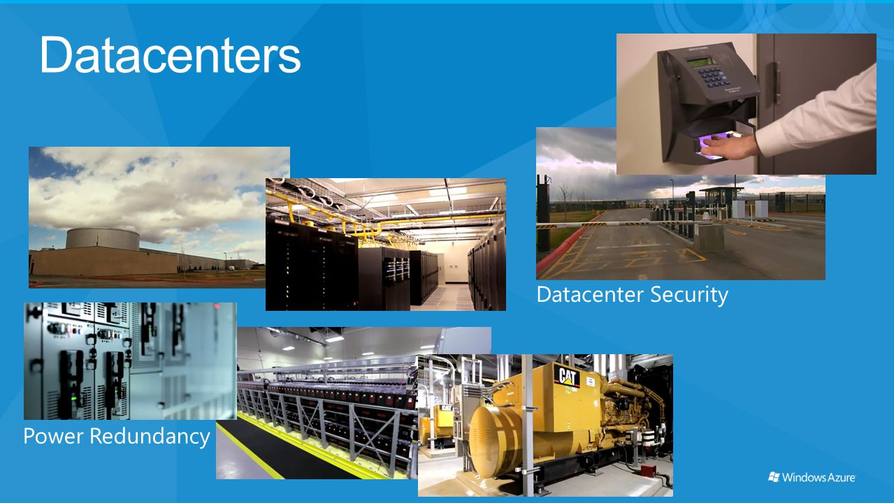 Datacenters Power Redundancy Datacenter Security
