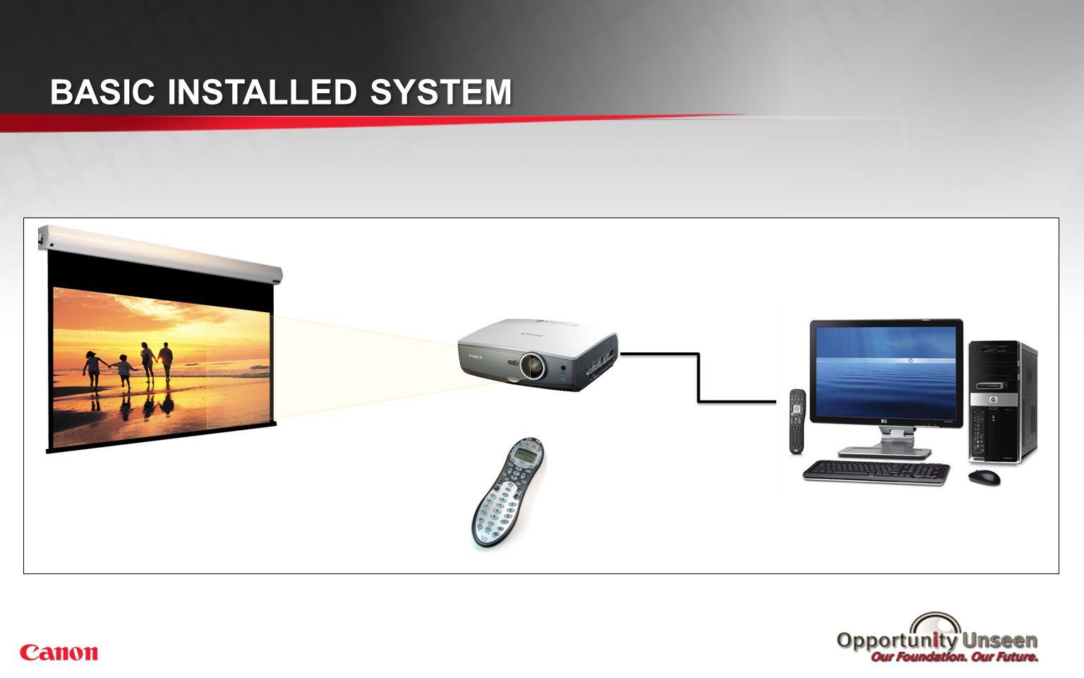 BASIC INSTALLED SYSTEM