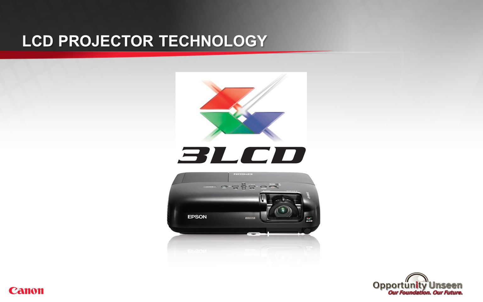 LCD PROJECTOR TECHNOLOGY