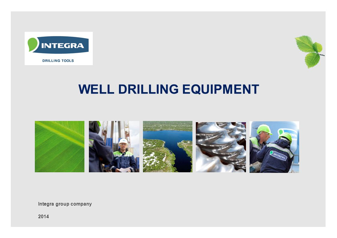 1 PRODUCTION STRUCTURE OF INTEGRA-DRILLING TOOLS Ltd.