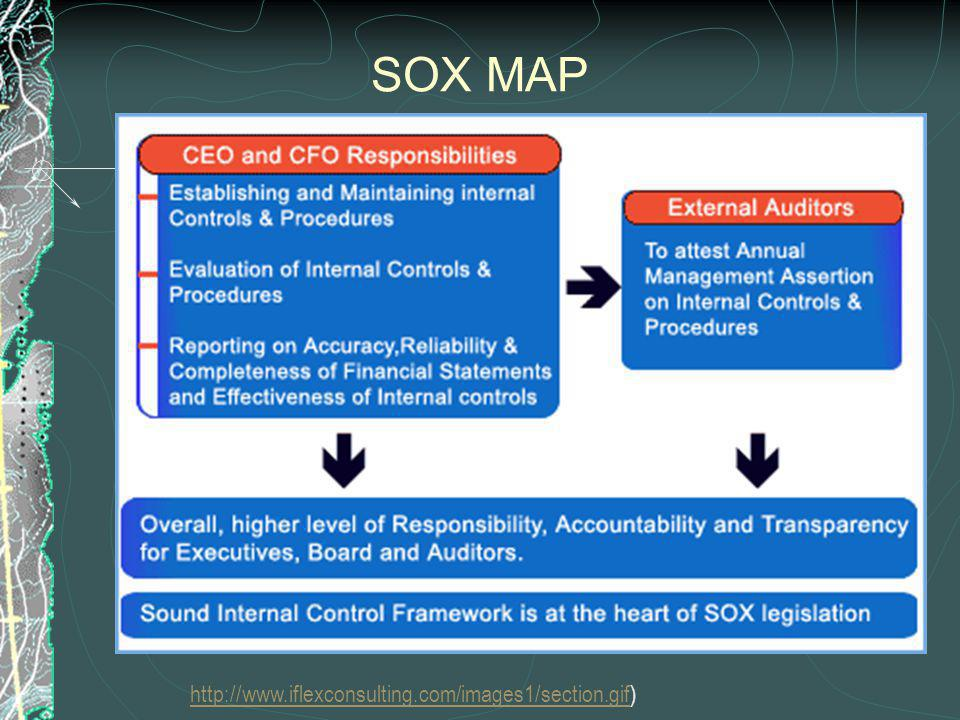 SOX MAP http://www.iflexconsulting.com/images1/section.gifhttp://www.iflexconsulting.com/images1/section.gif)