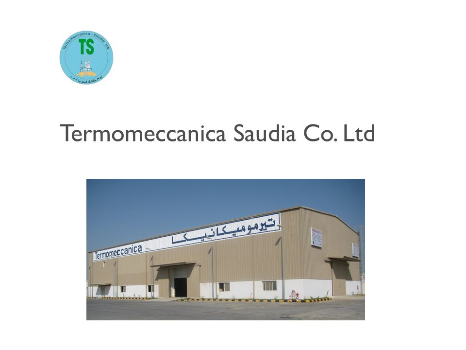 Termomeccanica Saudia Co. Ltd
