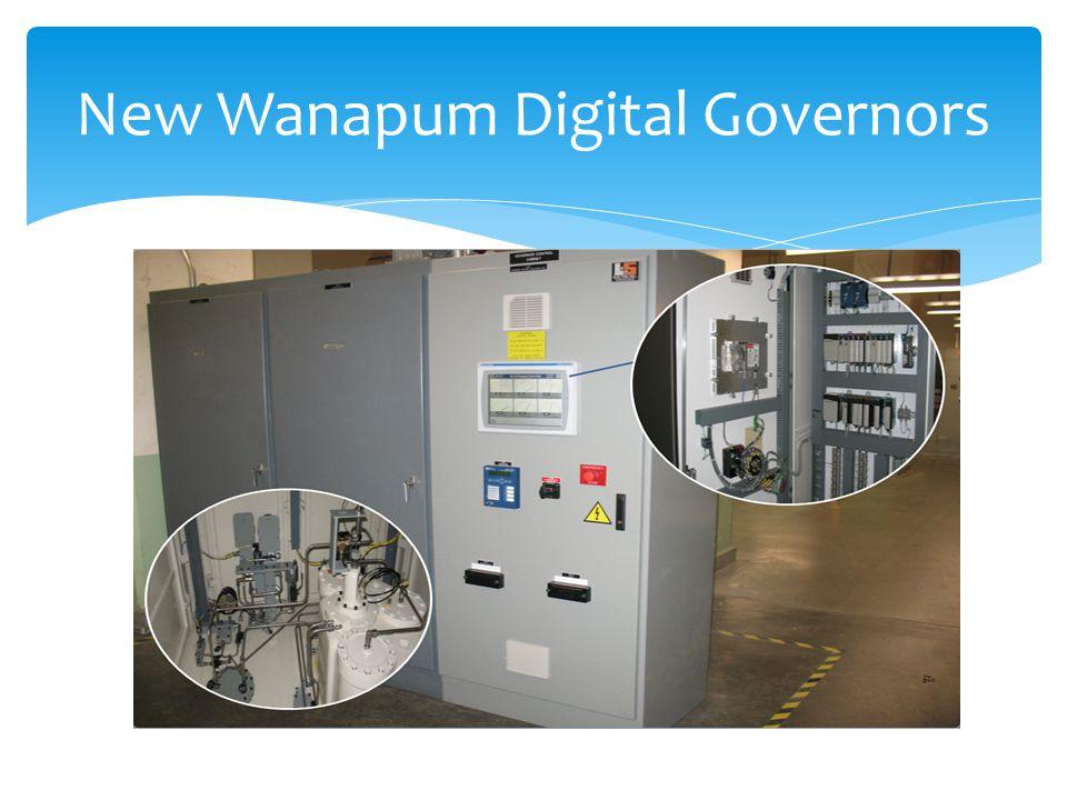 New Wanapum Digital Governors