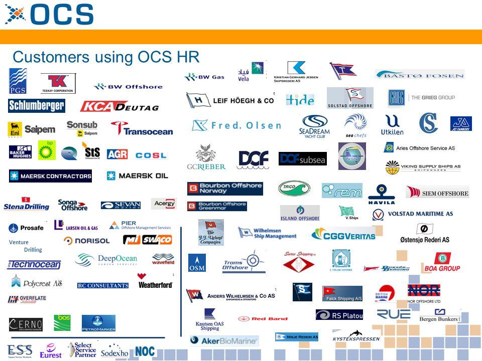 Norsk Hydro Produksjon Venture Drilling Customers using OCS Maisy EMAS Energy Services EMAS Construction & Production
