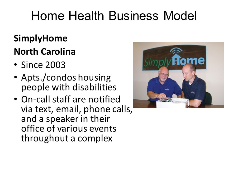 SimplyHome North Carolina Since 2003 Apts./condos housing people with disabilities On-call staff are notified via text, email, phone calls, and a spea