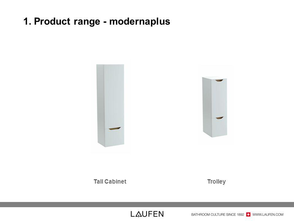 1. Product range - modernaplus Tall CabinetTrolley