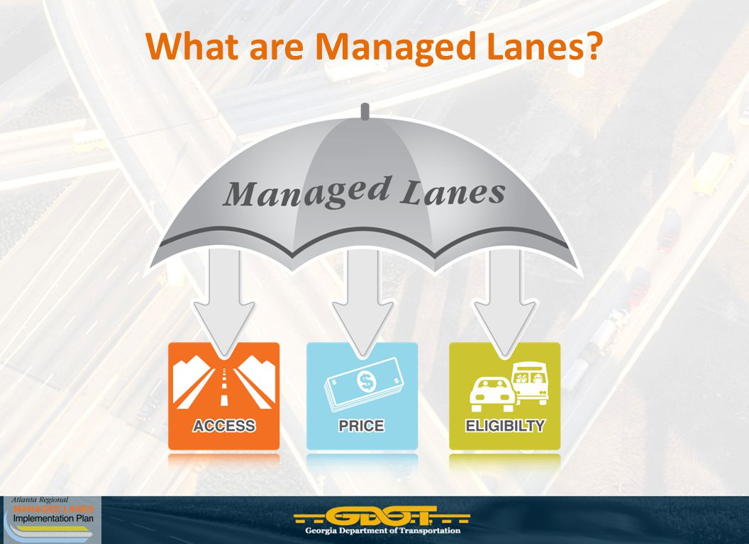 What are Managed Lanes