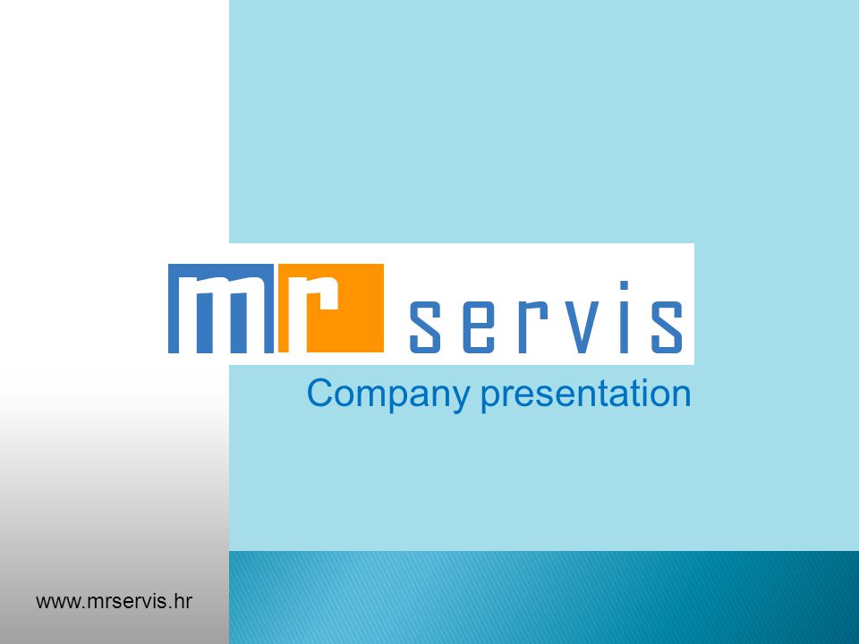 Company presentation www.mrservis.hr