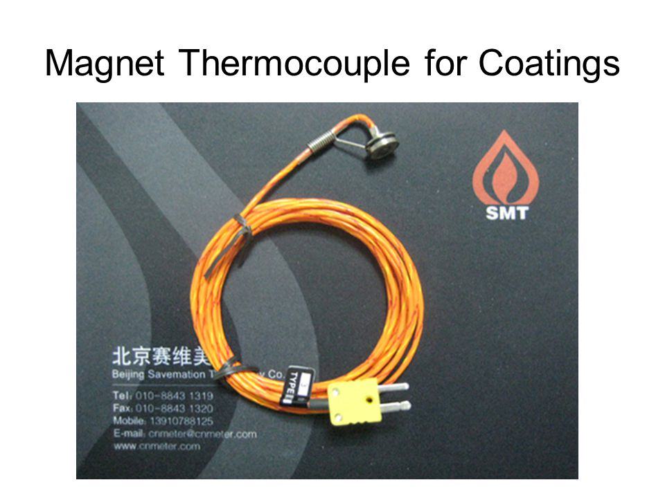 Magnet Thermocouple for Coatings
