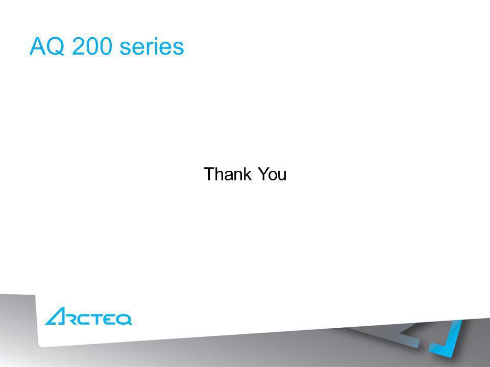 AQ 200 series Thank You