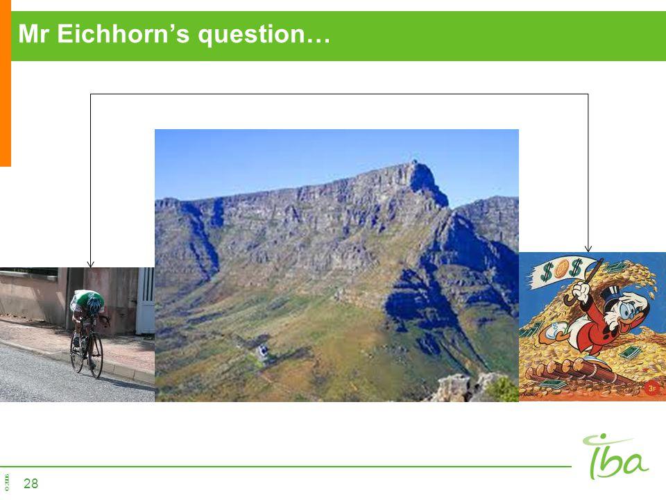 © 2006 Mr Eichhorns question… 28