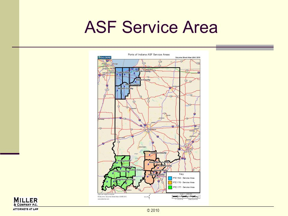 © 2010 ASF Service Area