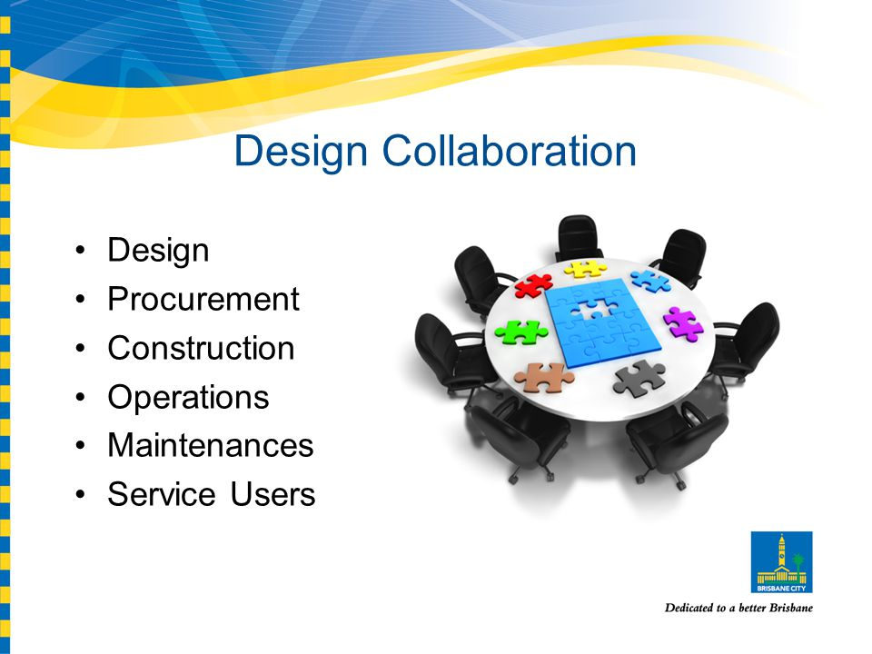 Design Collaboration Design Procurement Construction Operations Maintenances Service Users