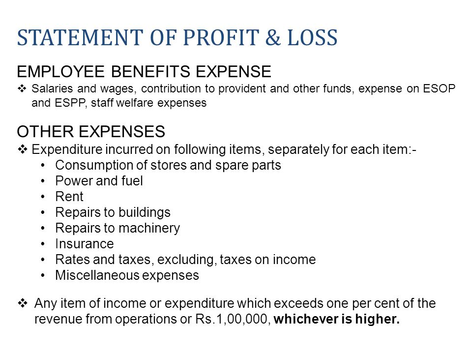 EMPLOYEE BENEFITS EXPENSE Salaries and wages, contribution to provident and other funds, expense on ESOP and ESPP, staff welfare expenses OTHER EXPENS