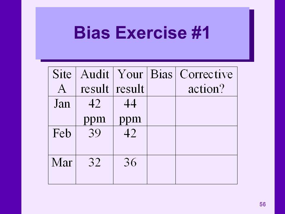 56 Bias Exercise #1