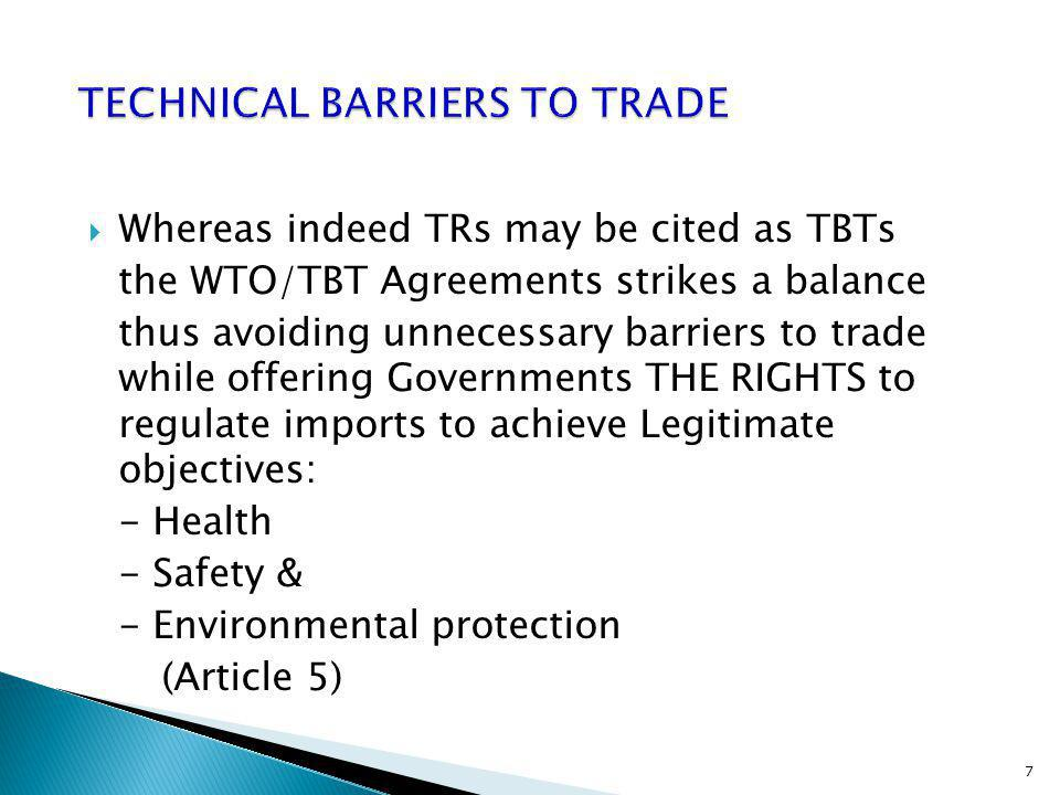 The Kenya PVoC Program is based on the provision of WTO/TBT Agreement, Article 5 PVoC principles & procedures were developed in accordance with the TBT Committee guidelines exhibiting: - Transparency - openness - impartiality & consensus - effectiveness & relevance - Coherence 8