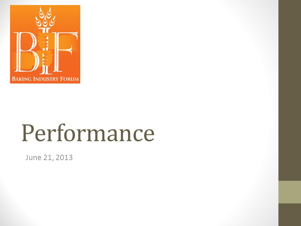 Performance June 21, 2013