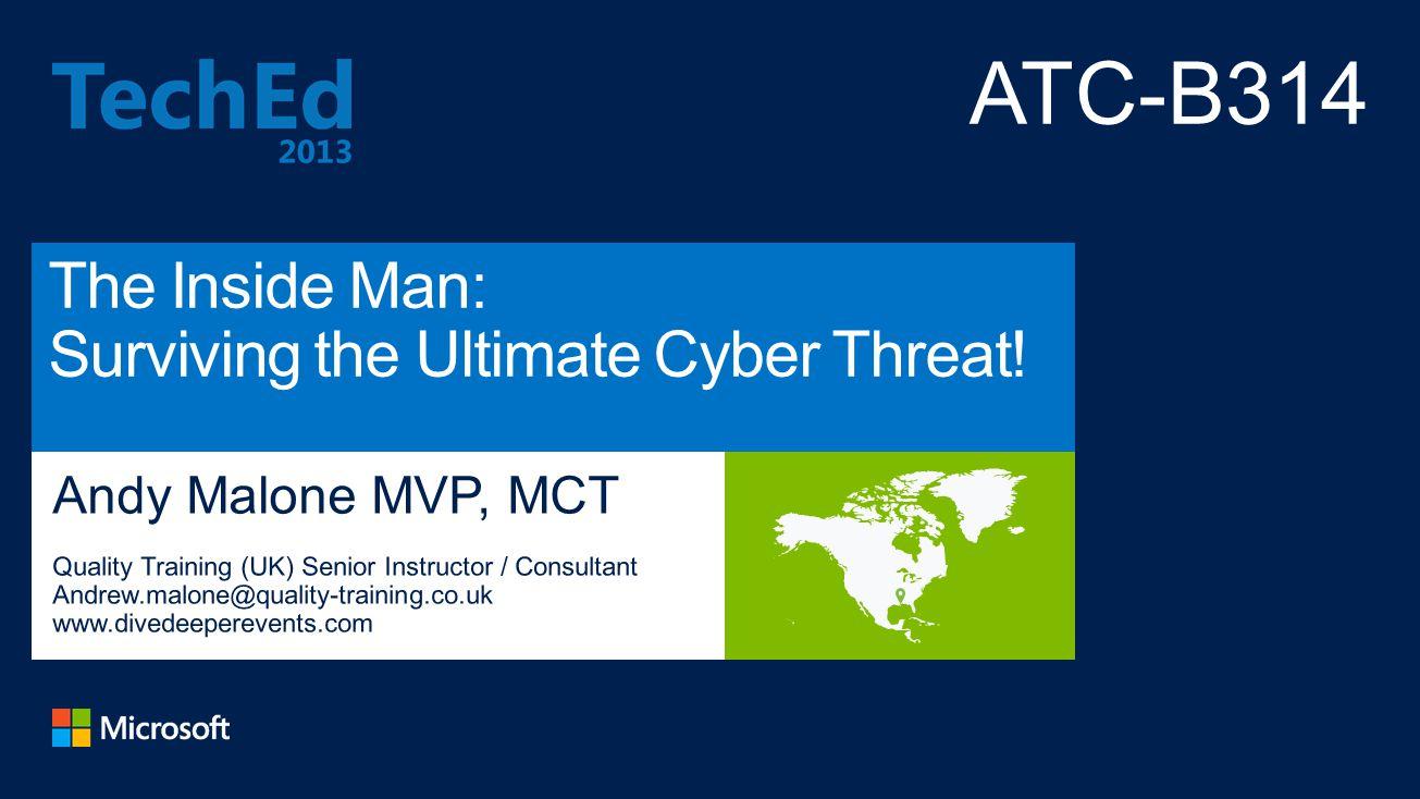 Microsoft MVP (Enterprise Security) Founder: Cybercrime Security Forum.