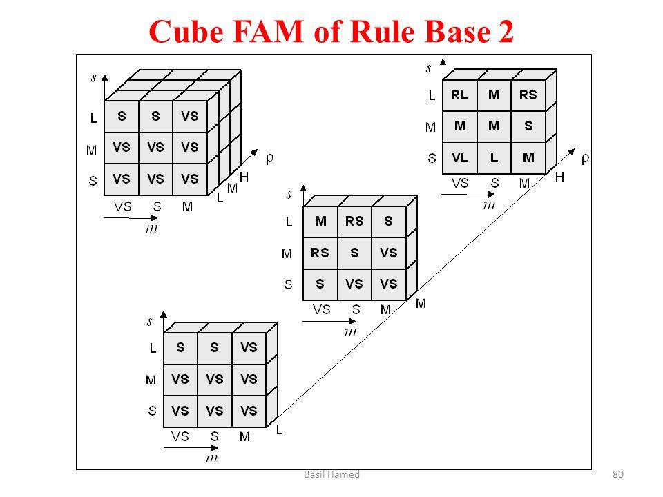 Cube FAM of Rule Base 2 Basil Hamed80