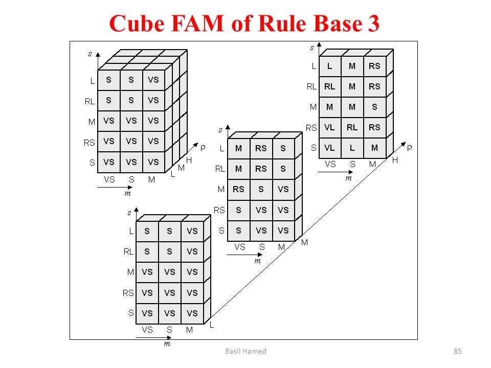 Cube FAM of Rule Base 3 Basil Hamed85