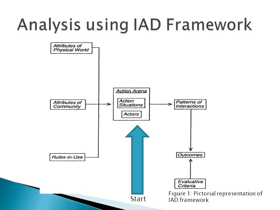 Start Figure 1: Pictorial representation of IAD framework
