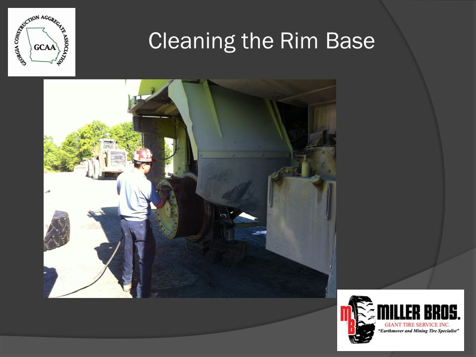 Cleaning the Rim Base