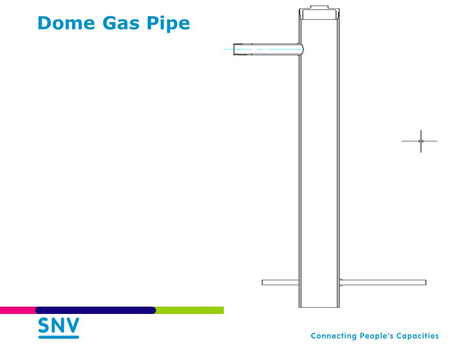 Dome Gas Pipe