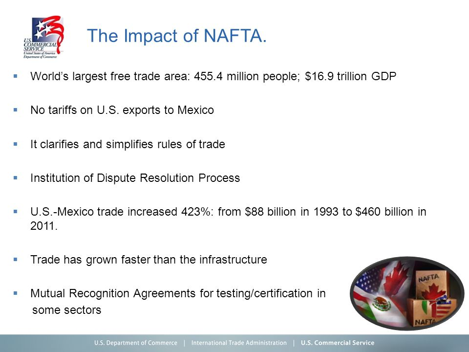 The Impact of NAFTA.
