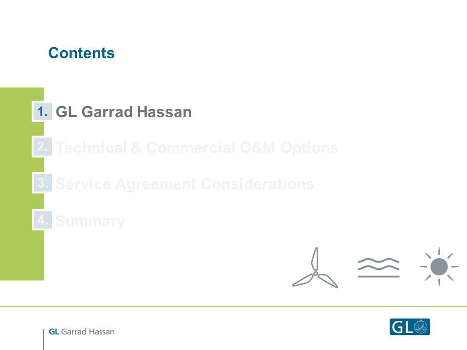 Contents GL Garrad Hassan 1. 2. 3.