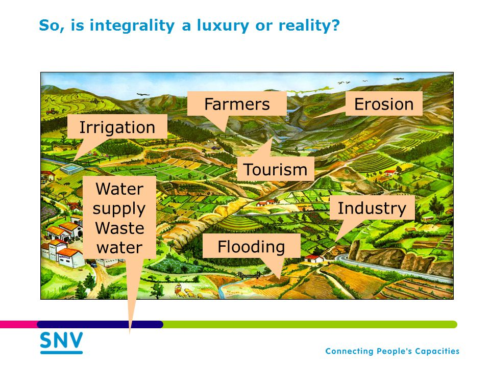 So, is integrality a luxury or reality.