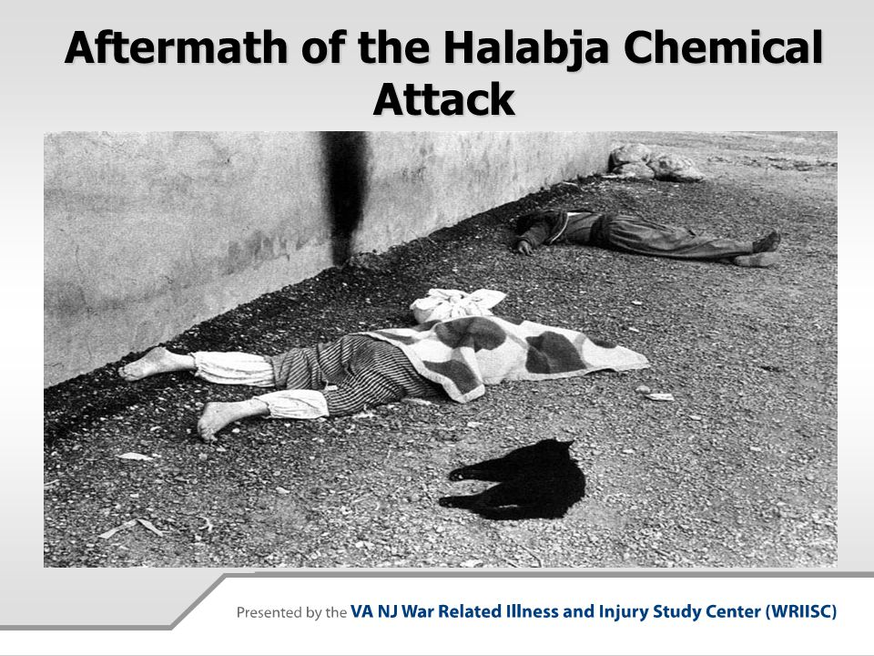 Aftermath of the Halabja Chemical Attack