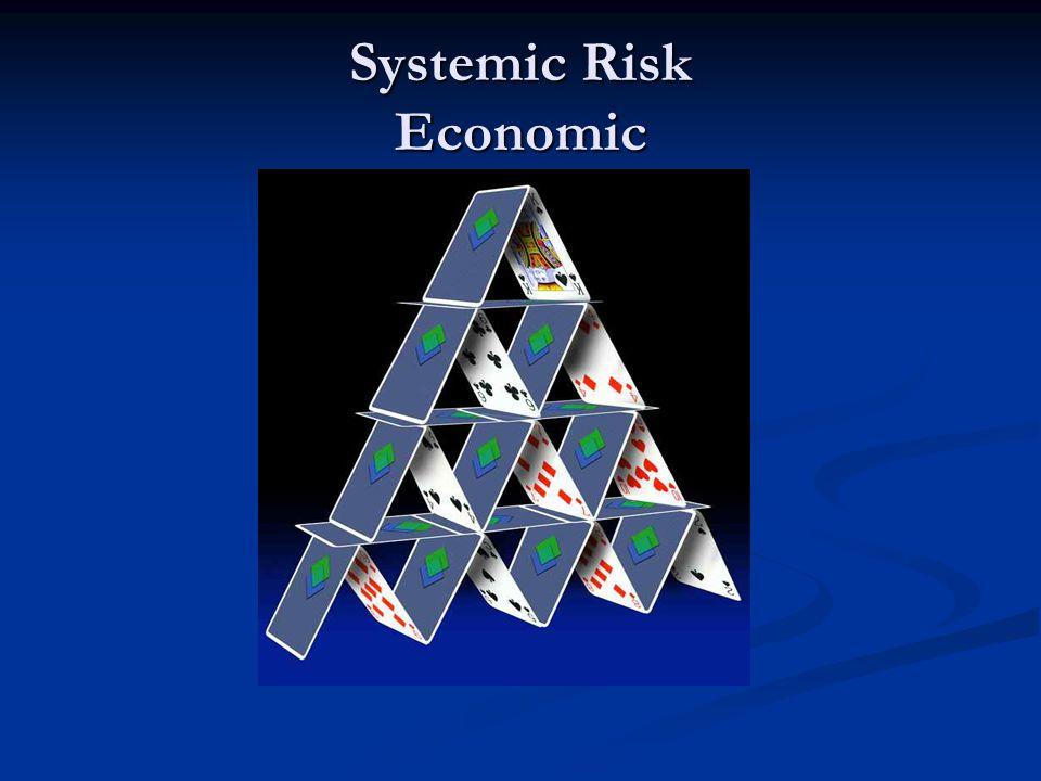 Systemic Risk Economic