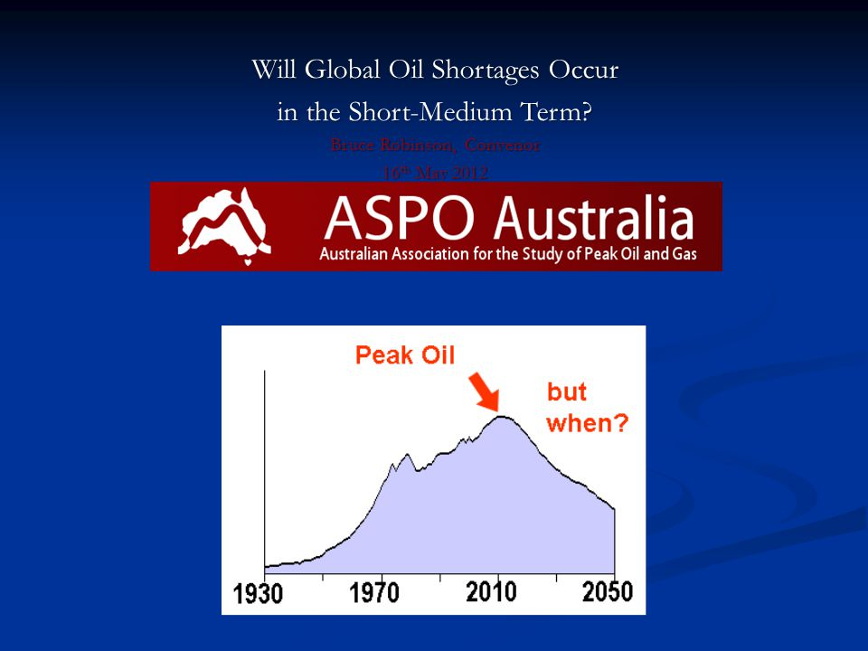 What is Peak Oil .What is Peak Oil .