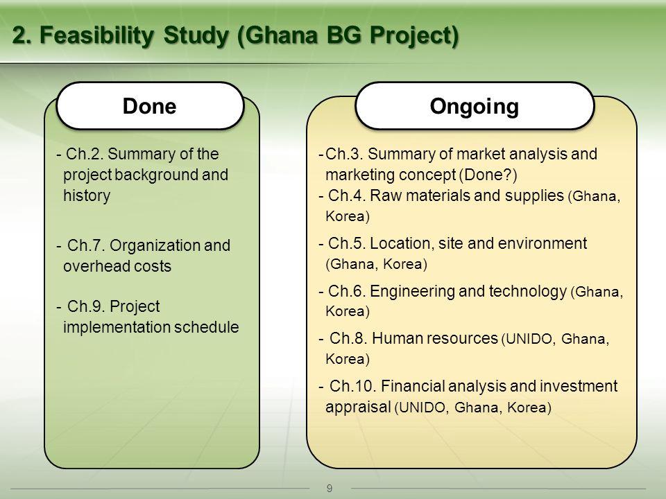 9 2. Feasibility Study (Ghana BG Project) - Ch.2.